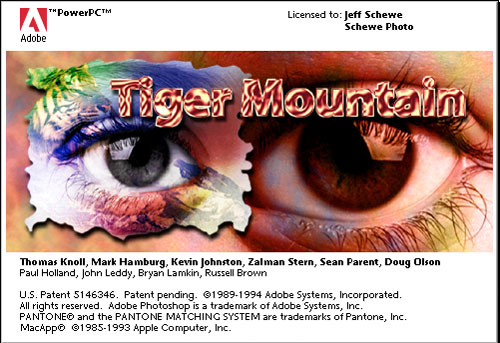 Trucs cach�s - Photoshop - version 3 : Tiger Mountain